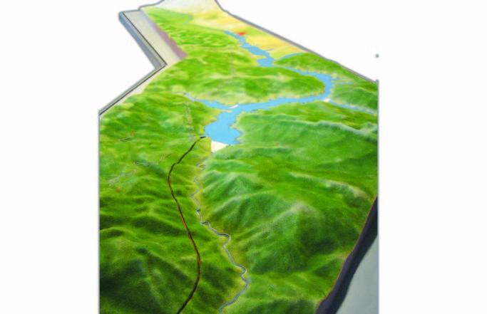 SOYAK ENERJİ – Arazi ve Baraj Maketleri